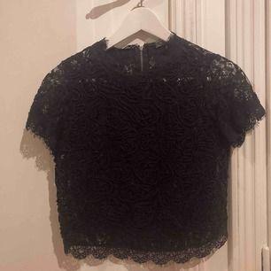 Jätte fin svart blus från Zara