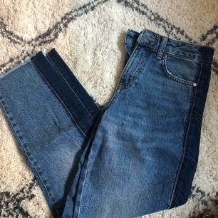 Jättesnygga jeans från Mango i strl 32 men passar xxs-s, nytt skick! Köparen står för frakt 💓