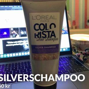 superbra silverschampoo, säljer pga att jag nu är brunett