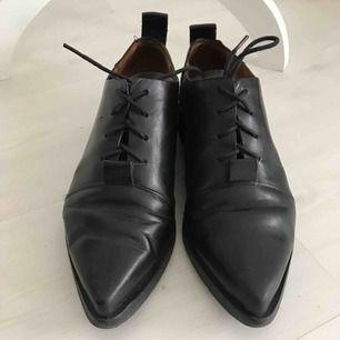 Fin skor men tyvärr lite stor för mig