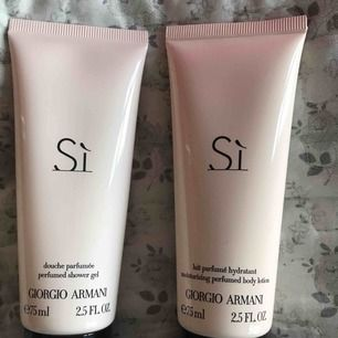 Si gel shawer och body lotion nya!