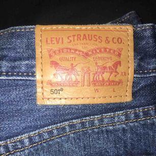 Levis 501 vintage shorts🔥 använda max 2ggr. Säljes pga använder för lite. Nypris 499:- på madlady