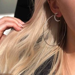 Jättefina örhängen i perfekt skick i silver! Fri frakt
