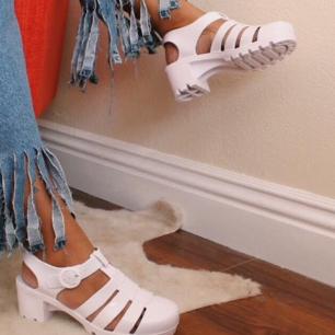 Superfeine Jelly-Schuhe von American Apparel in US-Größe 8. Leider wird sie zu selten verwendet
