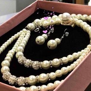 Jag har en smyck affär som vill sälja bort all smycken. Allt är nytt och frakt lägger mellan 20-30kr