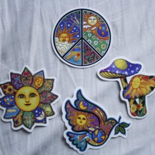 Magiska stickers för 9kr styck + 9kr frakt (alla för 30kr+frakt)