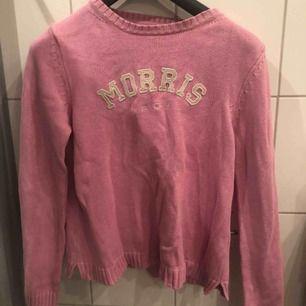 Rosa Morris lady stickad långärmad tröja i bra skick