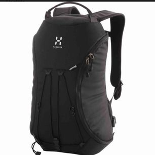Säljer denna ryggsäcken från Haglöfs! Modellen heter Corker, storlek M i färgen brun dvs inte svart som på bilden. Någon liten fläck och skavning men annars i bra använt skick. Nypris 900 kr, säljer min för 350 kr. ✨
