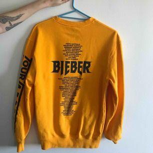 Justin Bieber tour tröja i herr XS så lite oversize Aldrig använd