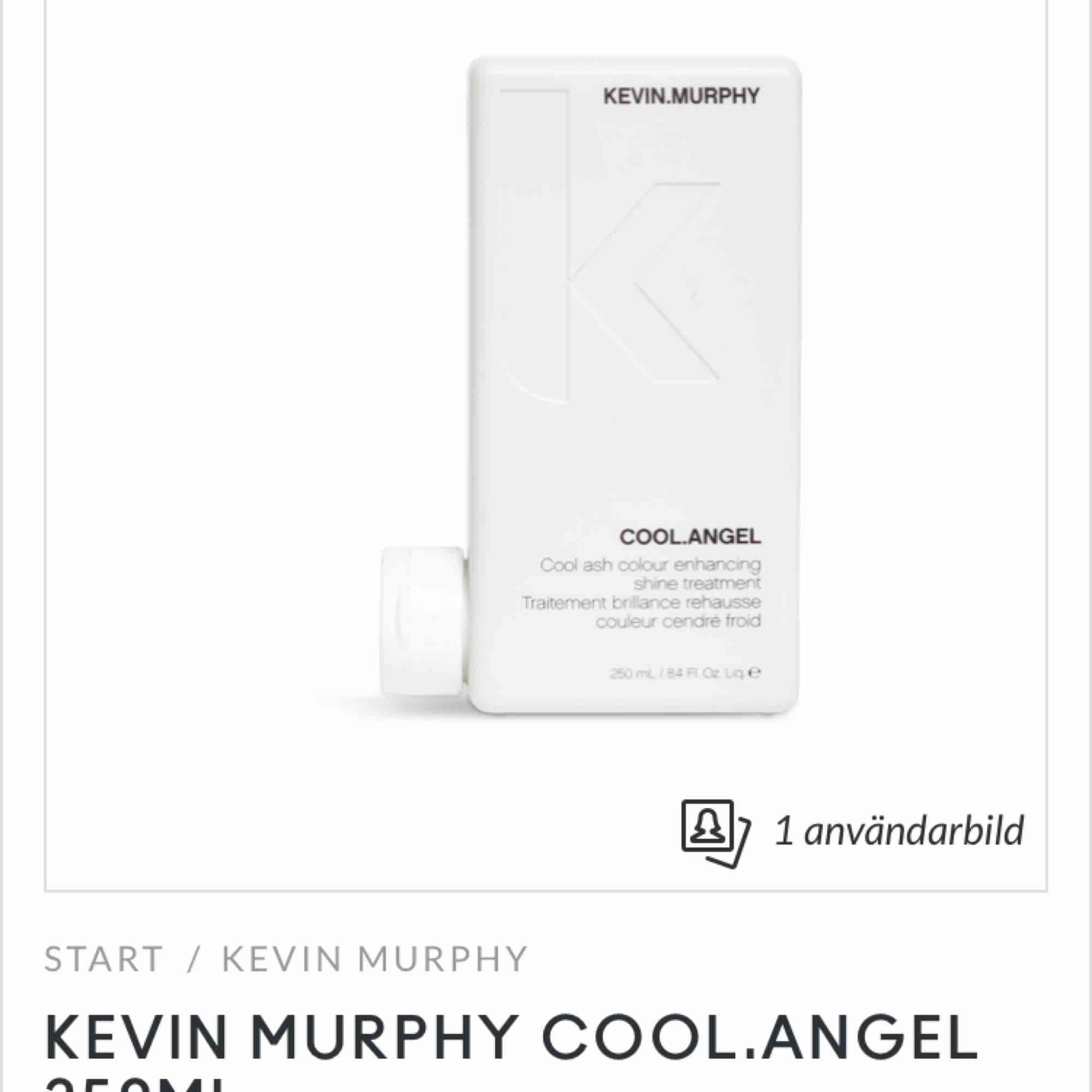 Säljer två Kevin murphy treatments, COOL ANGEL och BLONDE ANGEL  Endast testade, funkar bra men gillar mitt hår i den färgen det är så kommer ej till användning.   Båda för 300kr då dom kostar 269kr styck. Köparen står för frakten!. Övrigt.