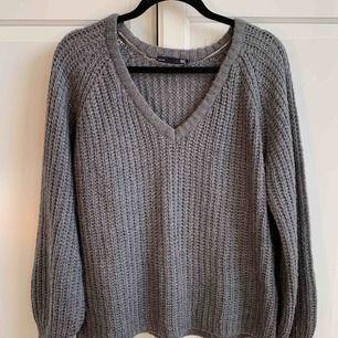 Oversized stickad tröja från lager157