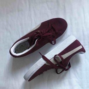 puma suede skor! aldrig använda. Frakt ingår i priset