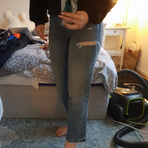 Cheap monday jeans använda en gång