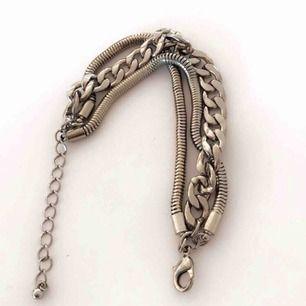 Snyggt silvrigt kedjearmband ☺️☺️ från Lindex