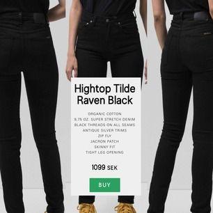 Helt oanvända jeans från NudieandCo! Säljer då dom är för små, alltså har dom aldrig använts! 🦋 Nypris är 1099, så passa på! W:24 L:32