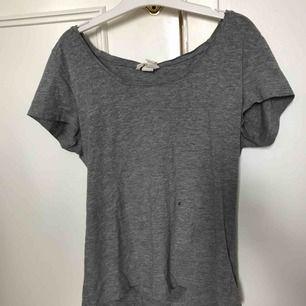 Basic tröja med djup u-ringning