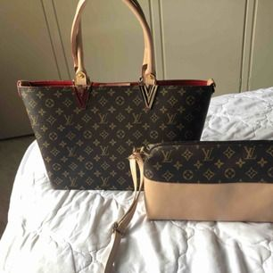 helt nya stor väska båda tillsammans  för 500kr ejäkta
