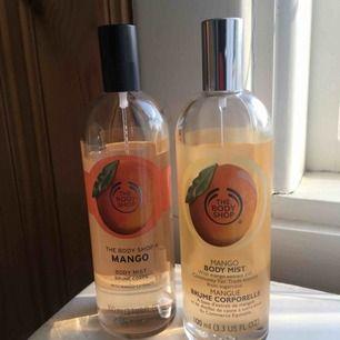 Mango Body Mist från The Body Shop. Båda för 100kr. Frakt inkl. i priset.