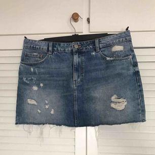 Kort jeanskjol från Zara🧧 Köparen betalar eventuell frakt💌📯