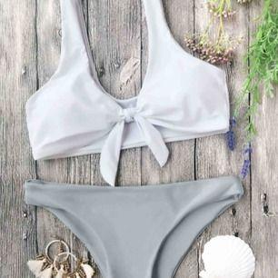 Helt ny bikini från zaful Storlek M på underdel och S på överdel Jättefin passform Fraktar för 20kr