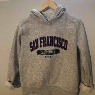 Snygg grå hoodie från Gina tricot, fint skick. Säljer eftersom jag inte använder den längre. Köparen står för frakt✨ skriv om ni har några frågor😊 pris kan diskuteras vid snabb affär!