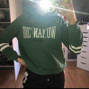 Grön hoodie i bra skick, ni betalar frakt