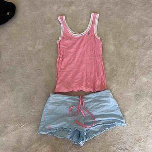 Ett somrigt pyjamas-set från Ralph Lauren. Shortsen är i flanell👚