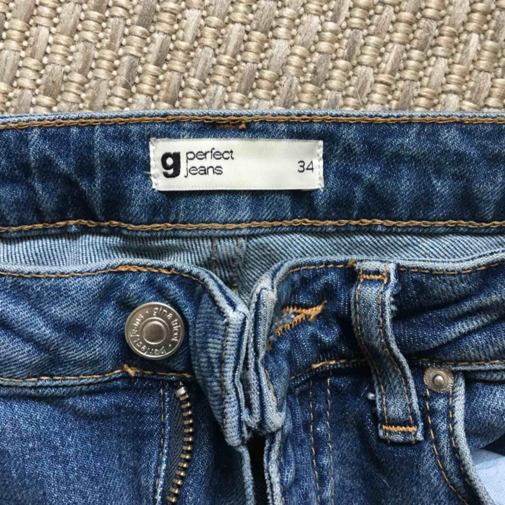 Kick flare jeans  Stl 34  Xs-s  . Jeans & Byxor.