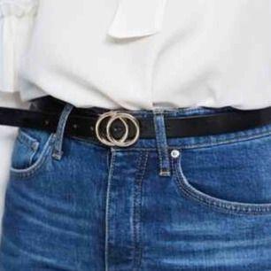 rose/guld bälte från Gina tricot, säljs pga att den inte kommer till användning.