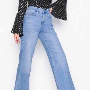 Så snygga vida, högmidjade jeans ifrån NLY. Slutsålda på hemsidan!