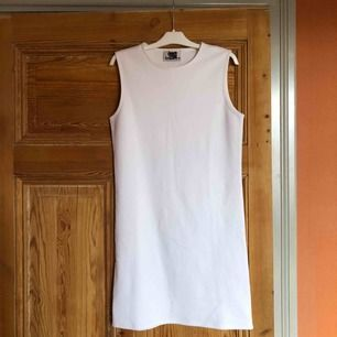 Tight and clean cut white sample dress from Acne Studios.  10/10 cond
