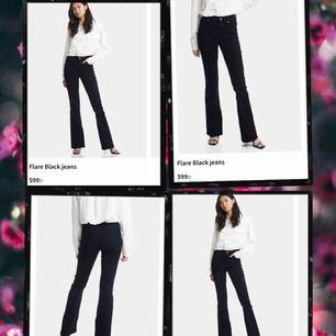 Knappt använda bootcut jeans från bikbok🧡Köpta för 600 kr, klippta för att passa folk som är runt 165 cm lång🧡Pris kan diskuteras vid snabb affär🧡