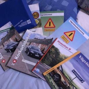 Alla böcker du behöver för att klara körkortet!