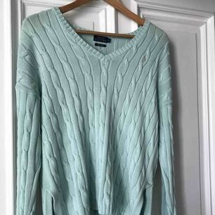 Lovely mint green Ralph Lauren cable knit sweater. Rarely used, a bit too big for me. Fits well for S-M sized.