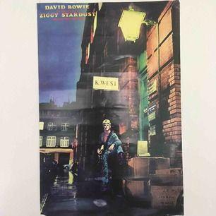 David Bowie: The Rise and the fall of Ziggy Stardust and the Spiders from mars. Helt ny och oanvänd. Skulle föredra att lämna över om man vill behålla det goda skicket! 61 cm bred och 90 cm lång.