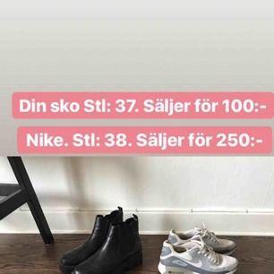100:- för din sko. 150:- för Nike   Finns i Sthlm, kan skickas om köparen står för frakten. Se gärna mina andra annonser!