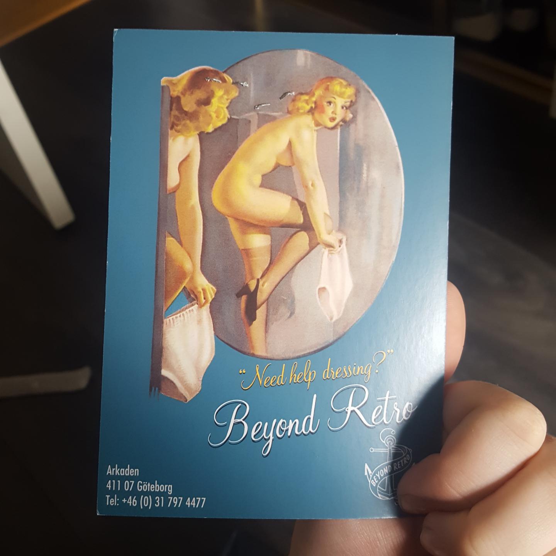 Har ett present kort på 21kr på beyond retro, men kommer aldrig att använda det. Kommer att skicka med det gratis i nästa köp! Gäller i 10år . Övrigt.