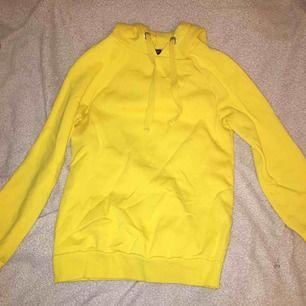 en superfin gul tröja i stl xxs (är som en xs) från GinaTricot!!🥰 inga fläckar eller skador. Säljer för att den används för lite :( Frakt tillkommer, betalning sker via swish !!❤️