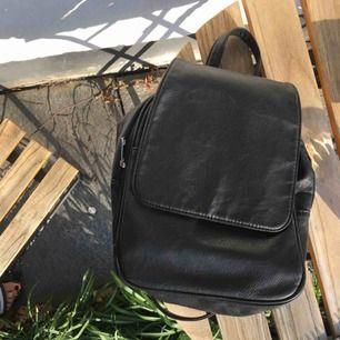 Superfin svart skinnrygga (fake) Oklart märke köpt på liten butik i Australien