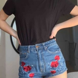 Snygga broderade shorts från H&M, gamla favoriter!
