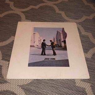 Begagnad retro vinylskiva från Pink Floyd, album med hits