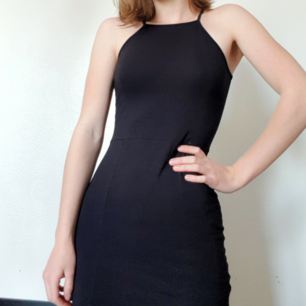 Little black dress from nelly! Size s and is true to size. Can be worn without bra. Only worn twice. Free shipping!