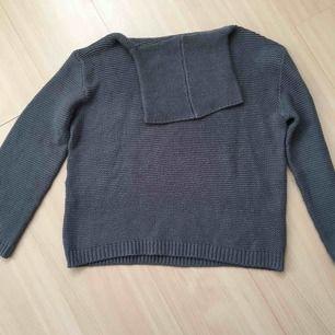 Stickat tröja med mysig passform