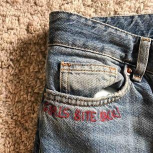 Coola håliga jeans! Köpta på H&M men knappast använda sen dess⭐️