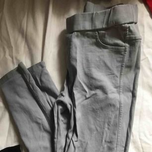 Strech tights gråa passar s/m