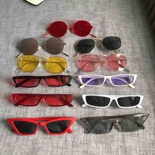 Trendiga och högkvalitativa solglasögon. Fodral och gratis frakt ingår ✨✨🌞  Skriv ifall du vill ha detaljbilder.