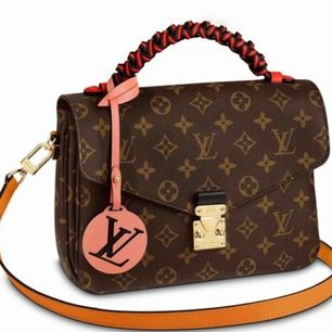 Louis Vuitton's Monogram Braided Pochette Metis straight from the 2019 runway cruise  A replica. I äkta skinn  Hämtas kan skicka spårbar schenker 120 k