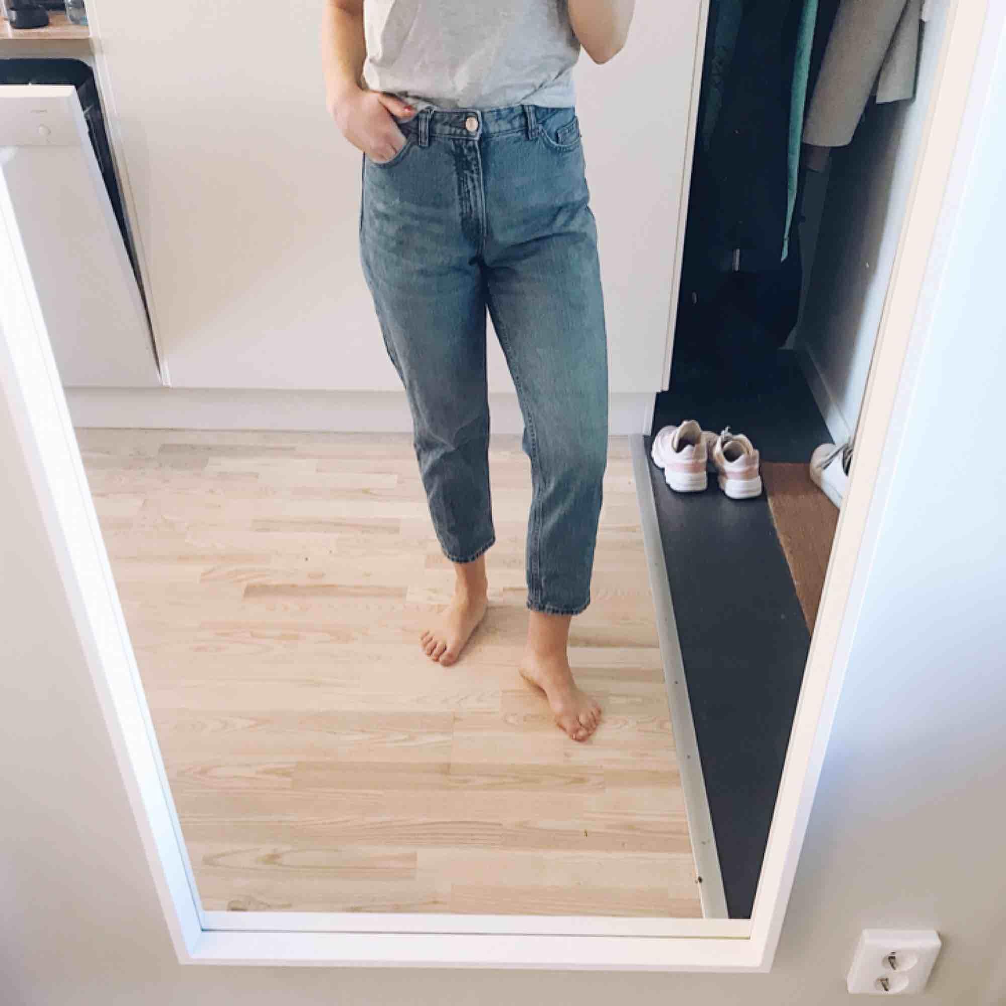 Jeans med hög midja. Jeans & Byxor.