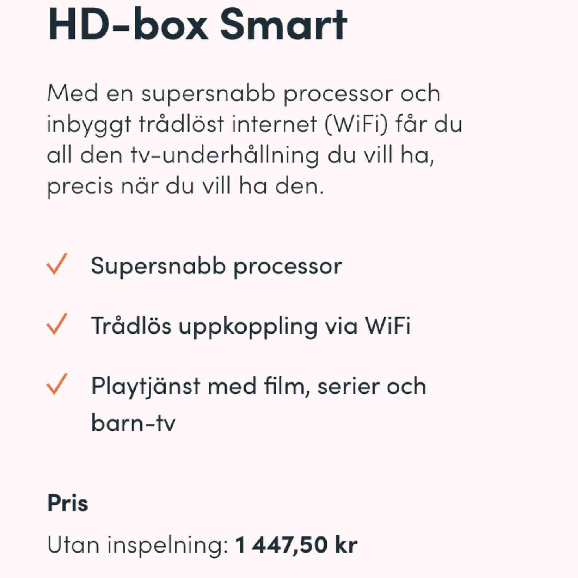 Allt på bild ingår : -Kablar -Fjärrkontroll -Innehållsförteckningar  -Boxen  -Lådan 📍Finns i Norrköping 📍 🔒Bud börja från mitt pris 🔒 Swish & paypal finns 💳💰. Övrigt.