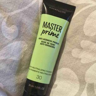 En helt ny primer nästan använd två gånger ungefär och kommer ej till användning längre, sminkar mig knappt på sommaren endast mascara så ja.  50 + 9kr frakt :)